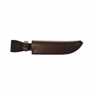 Чехол для ножа большой, с лезвием длиной 20 см, кожаный, микс цветов
