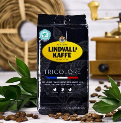 Кофе из Италии, Швеции и Германии. ТОЛЬКО лучшее для ВАС — Кофе молотый  (ШВЕЦИЯ) — Чай, кофе и какао