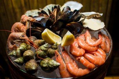 Доставим на дом! Отменяем поход за продуктами!  — Морепродукты — Рыба и морепродукты