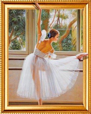 Алмазная мозаика 3D Балерина