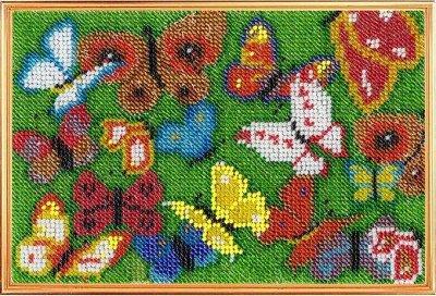 (130) Мир увлечений: наборы для вышивания, бисероплетения — Вышивка бисером «Вышивальная мозаика» — Наборы