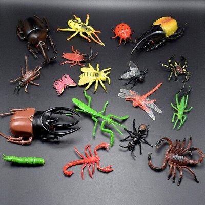 Чёкупила. Тысячи товаров до 250р!  — Животные, насекомые, аксессуары — Фигурки