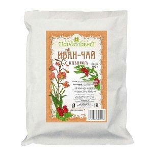 «Иван-чай с кизилом» с листом и ягодами кизила