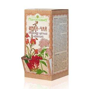 «Иван-чай с красной щёткой и душицей» в фильтр-пакетах