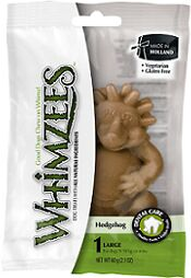 Whimzees лакомство для чистки зубов Ежик для собак L 8 см 1 шт в блистере