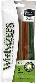 Whimzees лакомство для чистки зубов Зубная палочка для собак S 12 см 4 шт в блистере