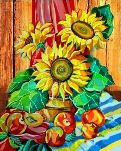 (131) Мир увлечений: акс-ры, мозаика, живопись, бисер, шитье — Раскраски по номерам «Color Kit» — Живопись по номерам