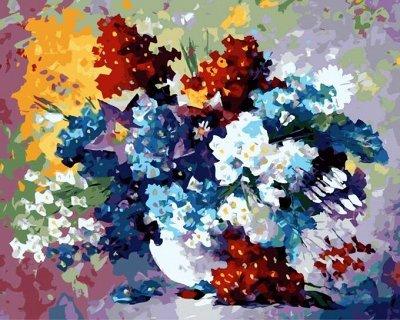 (131) Мир увлечений: акс-ры, мозаика, живопись, бисер, шитье — Раскраски по номерам «Fresh Art» — Живопись по номерам