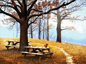 """36-3763-НО """"Осенний парк"""" - набор для вышивания"""