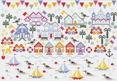 (130) Мир увлечений: наборы для вышивания, бисероплетения — RIVERDRIFT House — Наборы