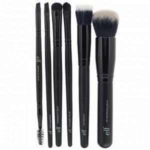E.L.F., Flawless Face, набор из 6 кистей для макияжа