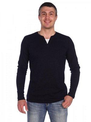 Футболка Стильная мужская футболка с длинным рукавом. хлопок 100 %