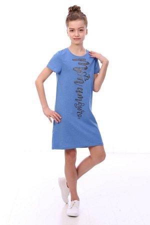 Платье детское, голубой