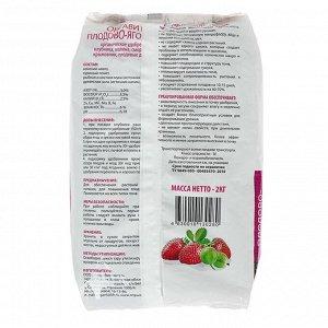 Удобрение гранулированное органическое Оргавит Плодово-Ягодные, 2 кг