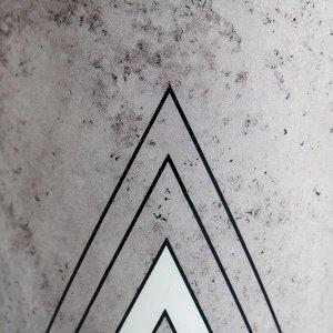 Набор кашпо 3 в 1 «Черно-белый стиль». 0.8 л. 11 х 12 см