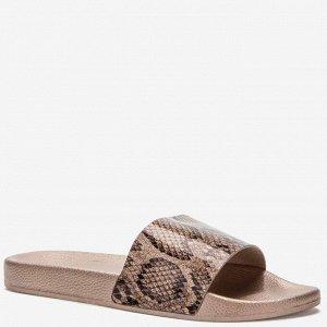 807790/01-01 бронзовый ПВХ женские туфли открытые