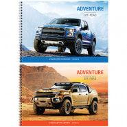 """Альбом для рисования 24л., А4, на гребне ArtSpace """"Авто. Off-road adventures"""""""