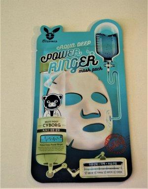 Elizavecca Тканевая маска для лица,  Aqua Deep Power Ringer Mask Pack, 28 гр