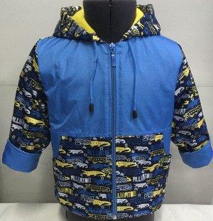 Ветровка Ткань верха: ДЬЮСПО МИЛКИ Подкладка: флис Состав костюма: 100% п/э Рост: 92,86 Цвет: желтый,серый+красный
