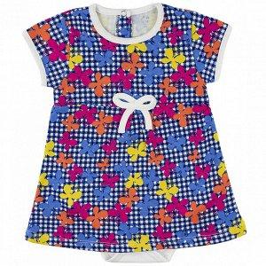 Боди-платье интерлок 0673200105 для новорожденного