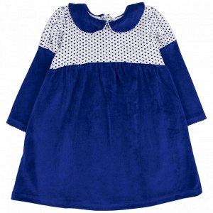 Платье велюр 166В3 для девочки