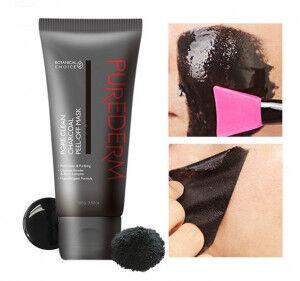 Маска-пленка очищающая PUREDERM Pore Clean Charcoal Peel-Off Mask, 100g