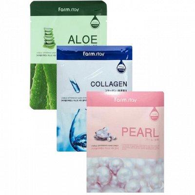 Premium Korean Cosmetics ☘️Раздача за 3 дня! Распродажа!! — Farm stay МАСКИ от 25 рублей — Защита и питание