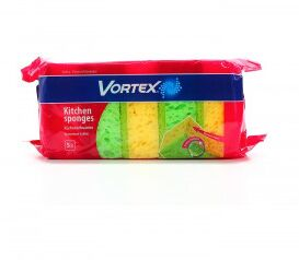 NEW Губка кухонная VORTEX 5шт