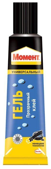 Клей МОМЕНТ гель 125мл (ш/б)