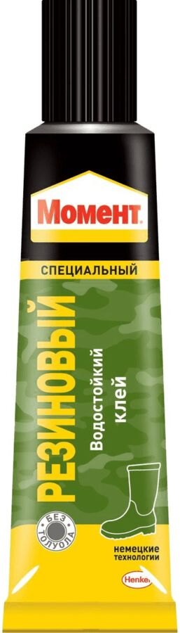 Клей МОМЕНТ Резиновый 125мл (ш/б)