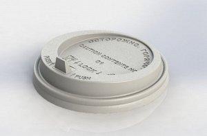 Крышка ПС, для стаканов с носиком d-80 мм