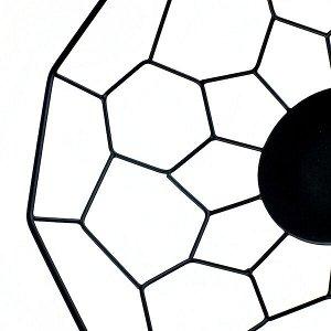 АРБЕТЕ Декоративная миска, черный, 32 см