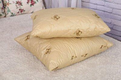 Одеяла и подушки по низким ценам+всем в подарок полотенце-11 — Подушки Овечья шерсть