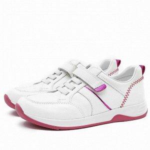 Кожаные кроссовки Nordman Groove белые