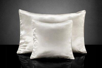 Одеяла и подушки по низким ценам+всем в подарок полотенце-11 — Подушки Шелковые