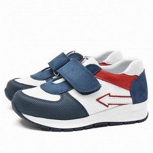 Кожаные кроссовки Nordman Groove синие