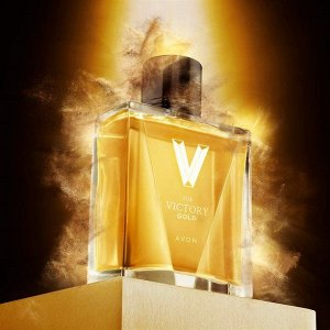Туалетная вода Avon V for Victory Gold для него, 75 мл