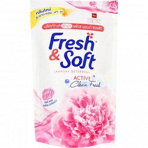 Гель для стирки LION Fresh & Soft Сладкий Поцелуй,