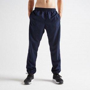 Брюки для фитнеса мужские FPA 120 цвет:синий DOMYOS
