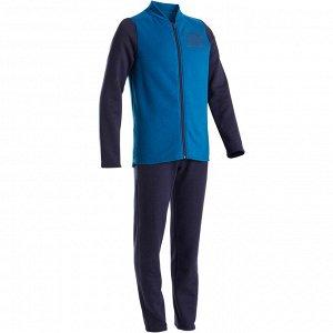Спортивный костюм утепленный 100 GYM для мальчиков DOMYOS