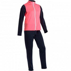 Спортивный костюм утепленный синтетический дышащий детский S500 GYM DOMYOS