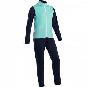 Тренировочный костюм утепленный дышащий детский GYM'Y S500 DOMYOS