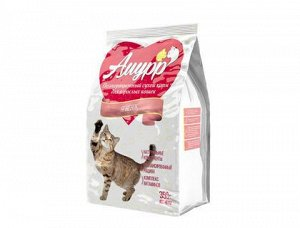 Амурр сухой корм для кошек Ягненок 350гр