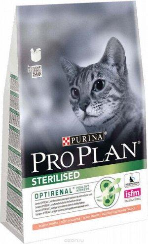 Pro Plan Sterilised сухой корм для стерилизованных кошек Лосось 3кг