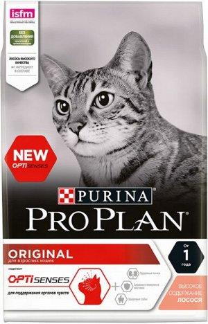 Pro Plan Adult Cat сухой корм для взрослых кошек Лосось 400гр