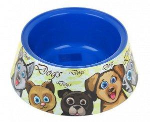 Миска для собак Чапа 0,65л
