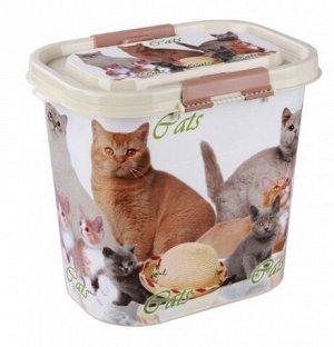 Контейнер для корма Cats 10л овальный