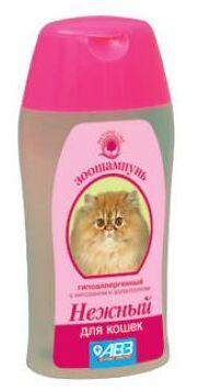Нежный шампунь для кошек 180мл