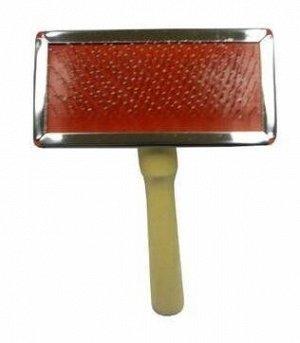 Пуходерка металлическая средняя с каплей