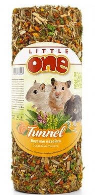 Little One Лакомство для грызунов Туннель малый 100гр